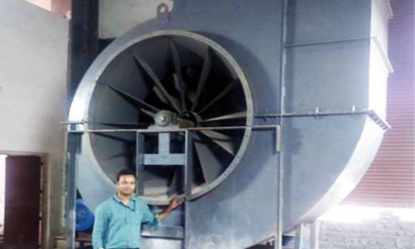 Forced Draft Fan : Induced draft forced fan manufacturers in ahmedabad